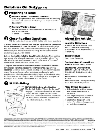 Scholastic News Edition 4 | Current Nonfiction for Grade 4