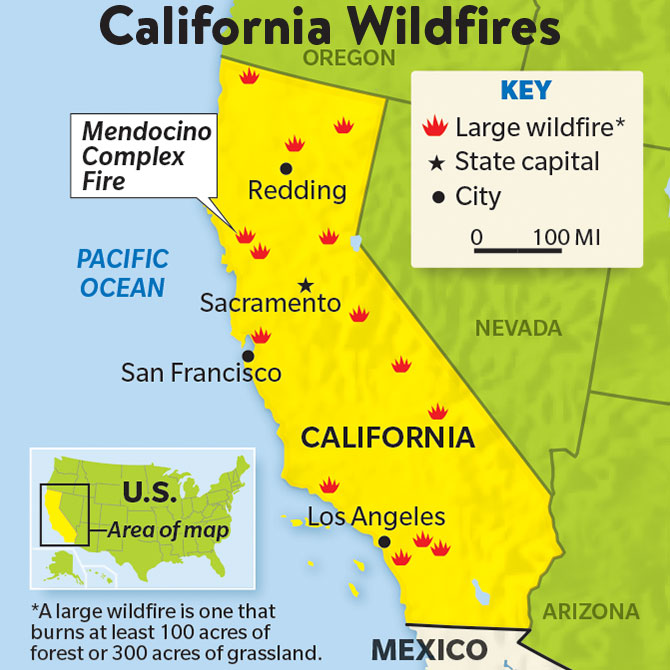 Arizona Active Fire Map.Into The Fire
