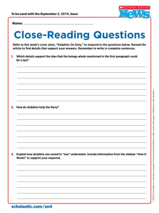 Reading Skills Articles, Skill Sheets, Videos, and Games for